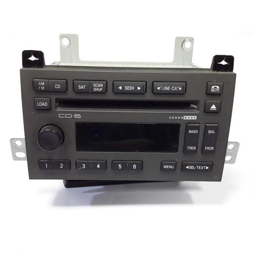 Cd player lincoln town 2011_2