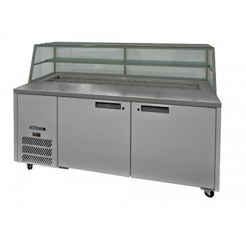 Refr. counter bakeries 2 doors mid  tp02mid 1660x850x1200