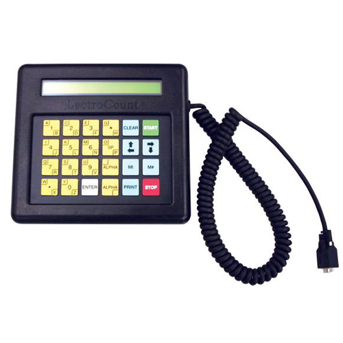 Lectrocount™ electronic registers lap pad