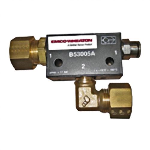 Break interlock valve