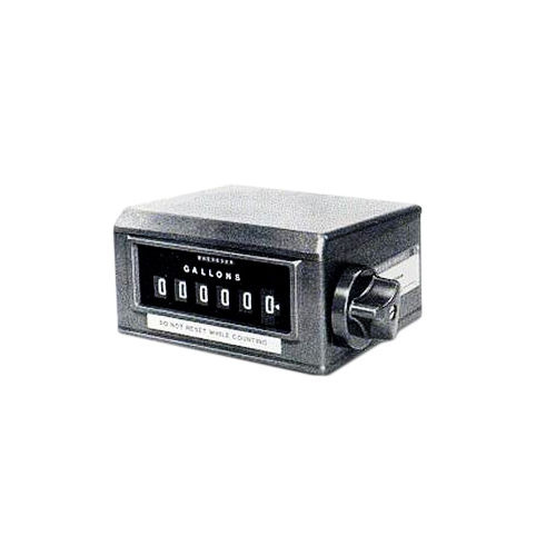 Series 7886 high-capacity meter register