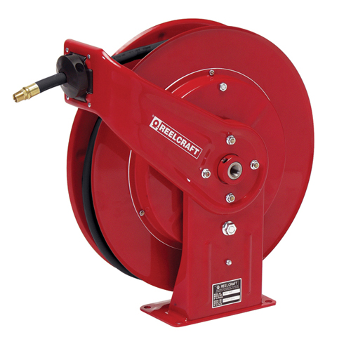 "Spring Retractable Pressure Wash Hose Reels (Series PW) Spring Driven Series PW - 1/4"", 3/8"", 1/2"" I.D._2"