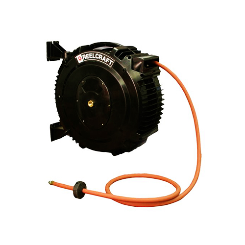 "Spring retractable composite hose reels (series s)  s series - 3/8"", 1/2"" i.d. spring driven air / water"