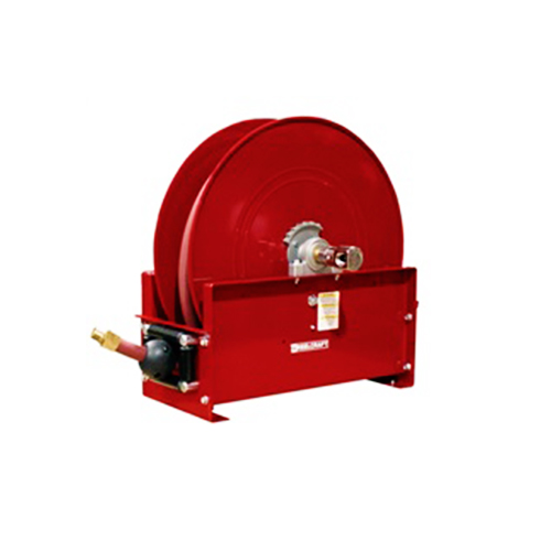 "Mobile base hose reels (series d9000 & e9000)   series 9000 - 1/2"", 3/4"", 1"", 1 1/4"", 1 1/2"" i.d. spring driven air/water/oil/grease"