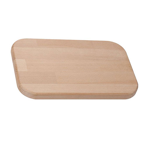 Rectangular beech wooden board with cover for cheese 51130940