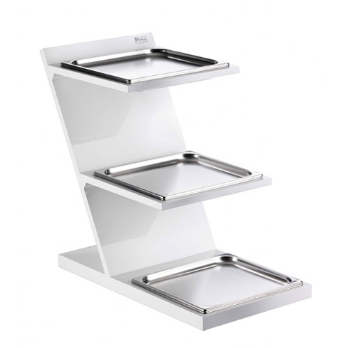 3 Level Fixed Stand With GN 2/3 Squared Tray 51131057_2