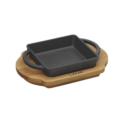 Square Dish And Wooden Platter LV ECO P TV 1212 K4_3