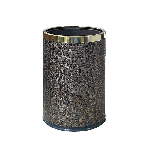 Round Room Dustbin With Ring ( ZGD-68 )_2