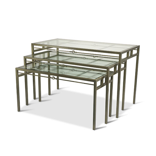 Buffet glass table+zbf-097-4c
