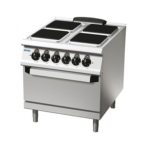 4-square-hotplate electric range on electric oven74/10ceepq