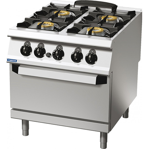 4-burner gas range on gas oven94/10cgg