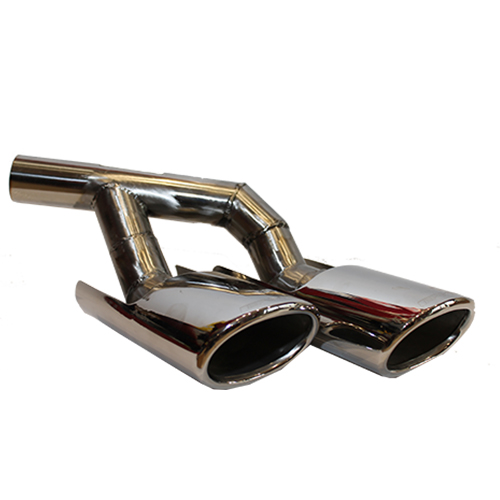 221 490 0003/0004  exhaust pipe