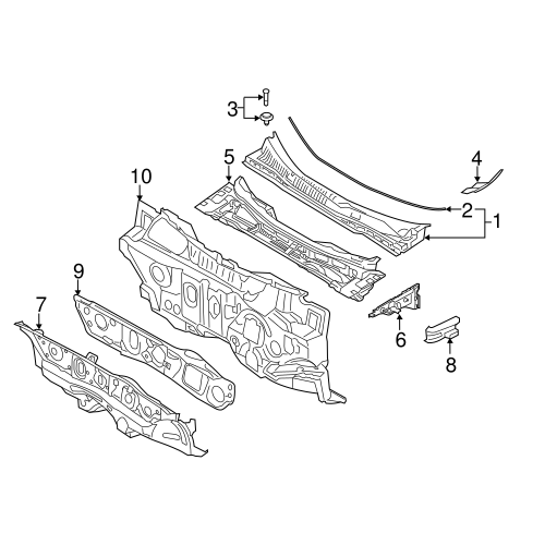 Side cover 86154-3r000