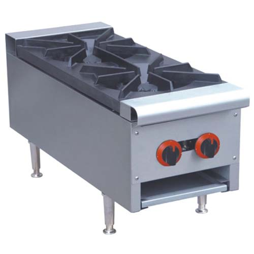 Table top gas cooker 2 burner