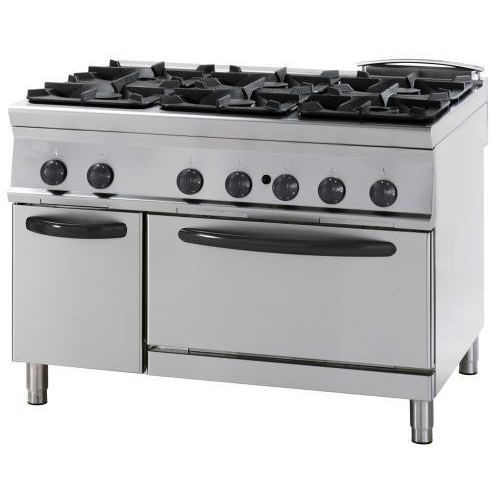 4 burners gas cooker