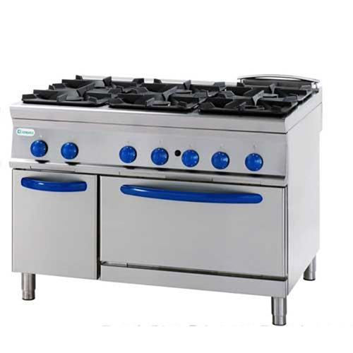 6 burners gas cooker