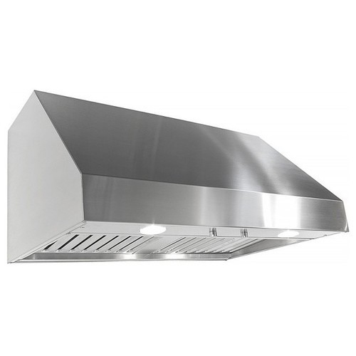 Kitchen hood double skin