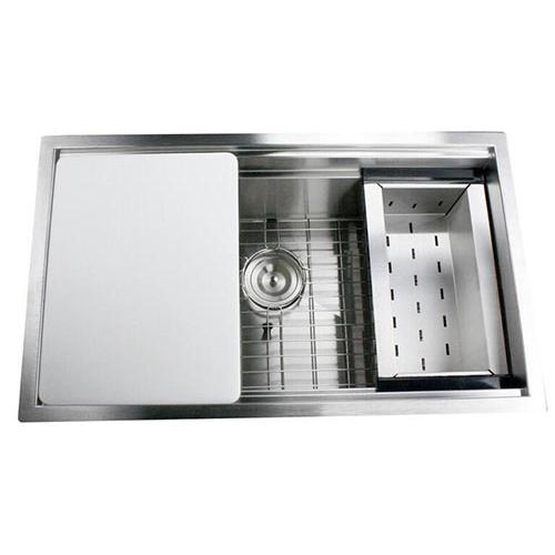 Vegetable prep. sink