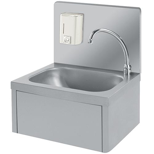 Handwash sink wall mounted