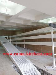Fully automatic bakery line