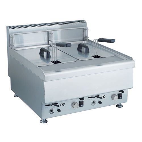 Table top gas fryer