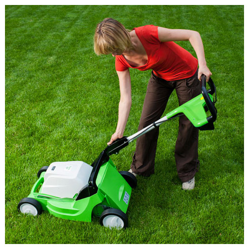 Viking ME 443 C Electric & Petrol Lawn Mower_3