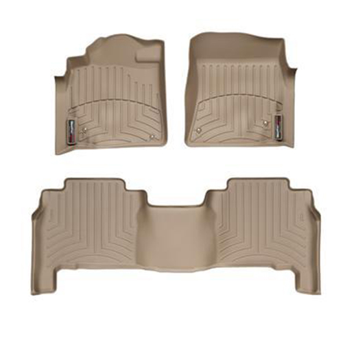 09-14 toy land cruiser weathertech digitalfit floor liners 4515712