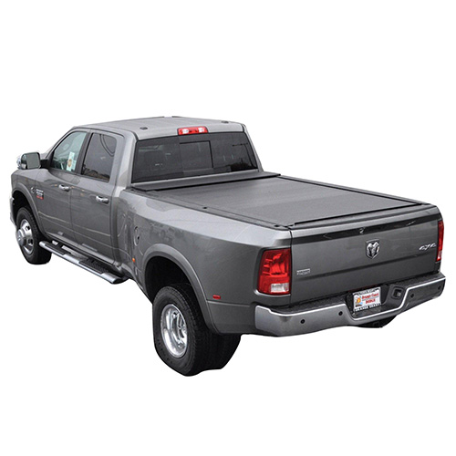 SHORT BED W/O RAM BOX HARD FOLDING TONNEAU COVER 	26207_2