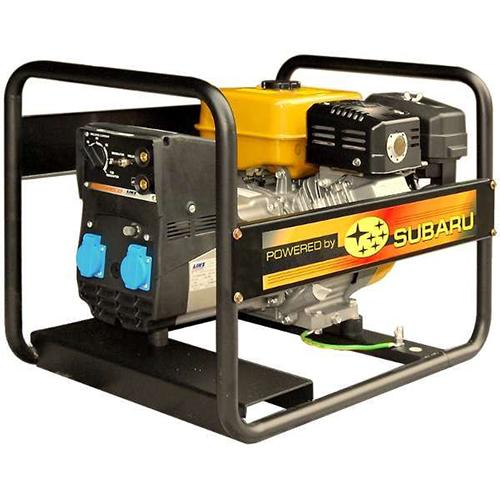 Subaru Robin RGH7500 Commercial Gasoline Engine Powered Portable Generator_3