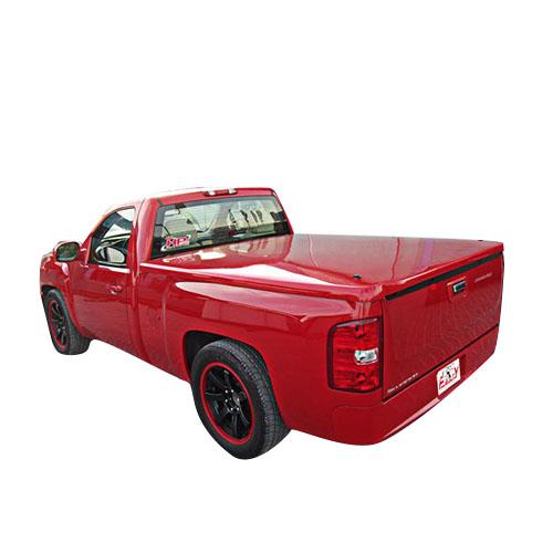 Dodge ram std bed fancy straight design fiberglass tonneau cover fcdr65021