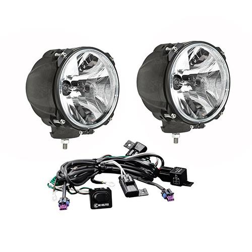Kc pod 70w hid carbon fiber long range lights pair  9634