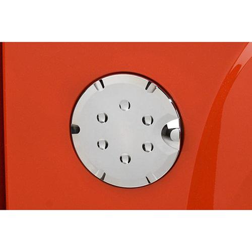 Chrome gas door cover bt8505