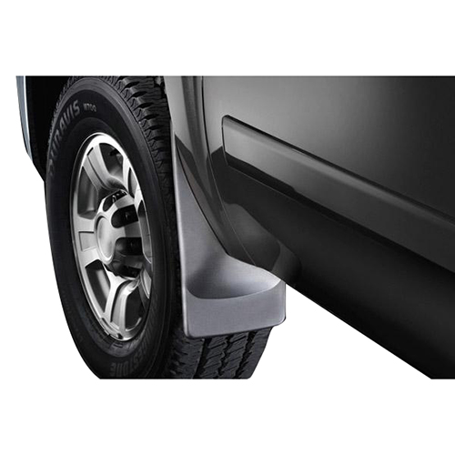 99-16 sir/sil defecta-shield custom fit stainless steel mud flaps , front 925104