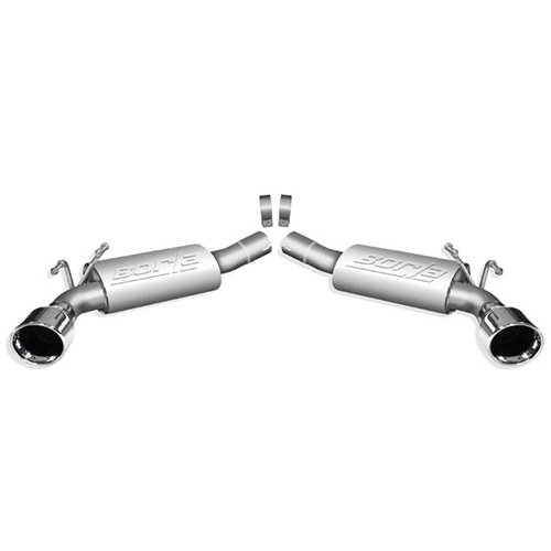10-13 CAMARO 6.2L BORLA TOURING REAR SECTION EXHAUST SYSTEM  11774_4