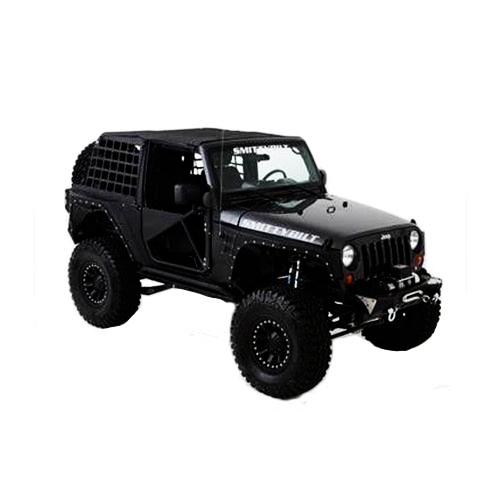 07-14 jeep wrangler jk 2-door fab fours lent cab side 2-step j1001