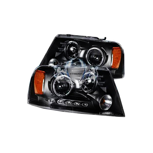 PROJECTOR ANGEL EYES HEADLIGHT LED   SK3300-61508-YJM_2