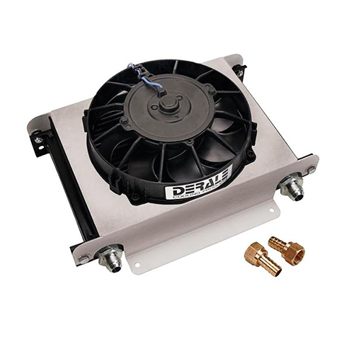 DERALE 25 ROW HYPER-COOL REMOTE TR/EN COOLER KIT ( 8 AN ) 	15860_2