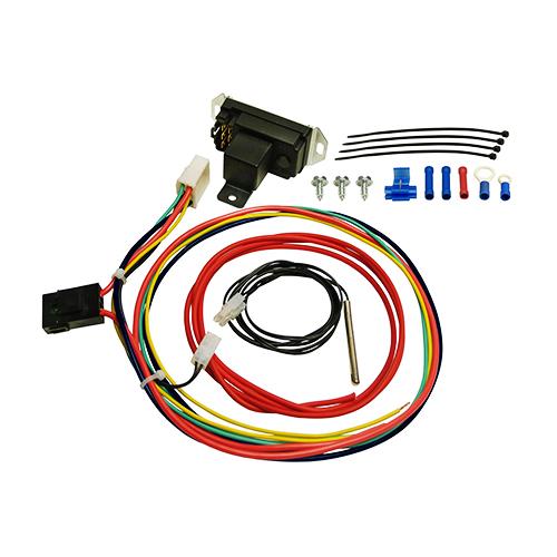 Derale adjustable electric fan controller , push in radiator probe 16759