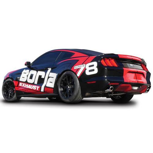 15+ FORD MUSTANG V8 GT 5.OL BORLA S-TYPE CAT-BACK EXHAUST SYSTEM  140590_4