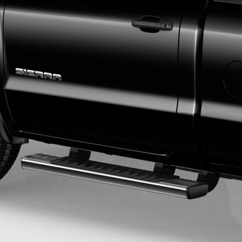 2014+ SIR/SIL DOUBLE CAB GM ASSIST STEPS, 6 INCH RECTANGULAR, CHROME GM22805440_2