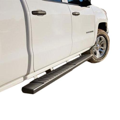 2014+ SIR/SIL REG CAB GM ASSIST STEPS, 6 INCH OVAL, BLACK GM22805439_2