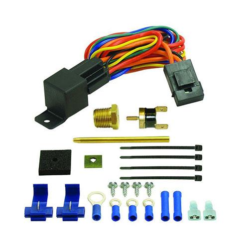 Electric radiator fan control 16735