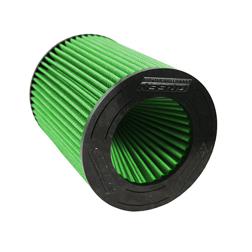 GREEN FILTER HIGH AIR FLOW GREEN ELEMENT 05-13 MUSTANG 4.6L  	7051_2