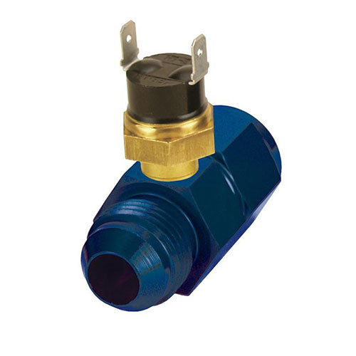 Derale 35021 in line fluid thermostat 8an 180 degree  35021