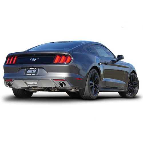 15+ FORD MUSTANG 2.3L EB , V6 3.7L BORLA S-TYPE REAR SECTION EXHAUST SYSTEM, BLA 11889_3