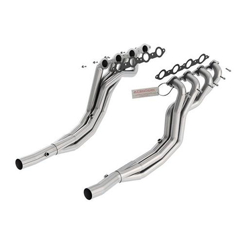 10-13 camaro ss/zl1 v8 6.2l borla long tube headers 17249