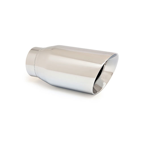 SLANTED DOUBLE WALL EXHAUST TIP , L12