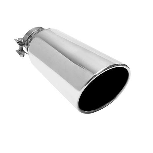 TRUCKS/SUVS STAINLESS STEEL EXHAUST TIP , L12