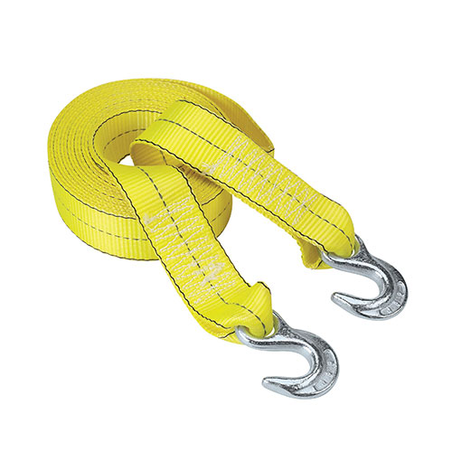 Highland/15 ft. x 2 in. tow strap with hooks 10146