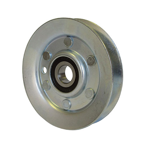 Pulley , 2pc , 3.300dia , .400 o/s , steel (dwg rev b)       57-00-06-033